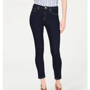 Michael Kors High Rise Skinny Stretch Jeans 14